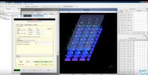 EVT Sofware Pin Inspection - Checking Count and Alignment of Pins with QuellTech Laser Scanner