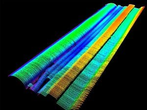 Inspection of laser weld seams for pipe coils